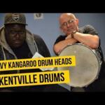 Video thumbnail 0 - Kentville Drums Kangaroo Hide Drum Heads