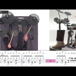 Video thumbnail 3 - Yamaha DTX432 Electronic Drum Kit Bundle