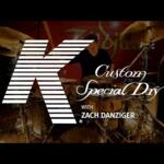 Video thumbnail 1 - Zildjian K Custom Special Dry Box Set - KCSP4681