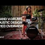 Video thumbnail 0 - Roland VAD103 V-Drums Acoustic Design Kit