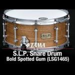 """Video thumbnail 1 - Tama S.L.P. Bold Spotted Gum 14""""x 6.5"""" Snare Drum (LSG1465-SNG)"""