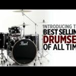 Video thumbnail 0 - Pearl EXX Export Fusion Drum Kit in Arctic Sparkle with Sabian Cymbals