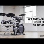 Video thumbnail 1 - Roland TD-50KV2 V-Drums Electronic Drum Kit