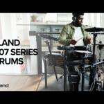 Video thumbnail 0 - Roland TD-07KVX V-Drums Electronic Drum Kit