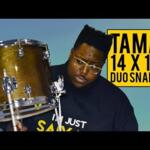 Video thumbnail 0 - Tama SLP Duo Snare 14x10in, Transparent Mocha