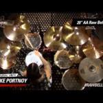 Video thumbnail 3 - Sabian AA Raw Bell Crash Cymbal